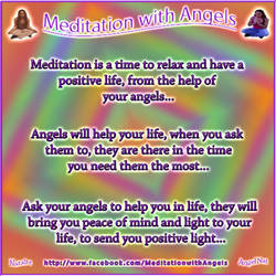 Meditation with Angels183 by Angel77light