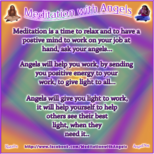 Meditation with Angels185 by Angel77light