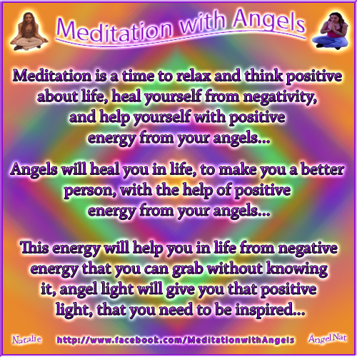 Meditation with Angels187 by Angel77light