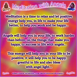 Meditation with Angels188 by Angel77light