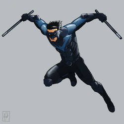 Nightwing by shinbond-zero