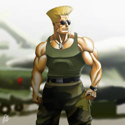 Guile by shinbond-zero