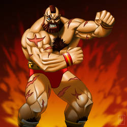 Zangief by shinbond-zero