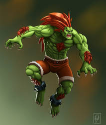 Blanka by shinbond-zero