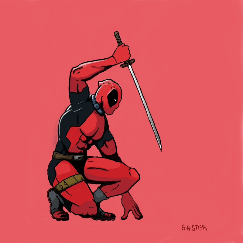 Deadpool by W831SinisteR