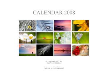 Calendar 2008 by Yaninah