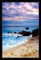 Lonely Beach by Yaninah