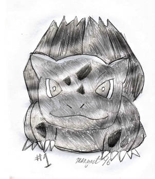 Bulbasaur, Pokemon #001 by mangart96