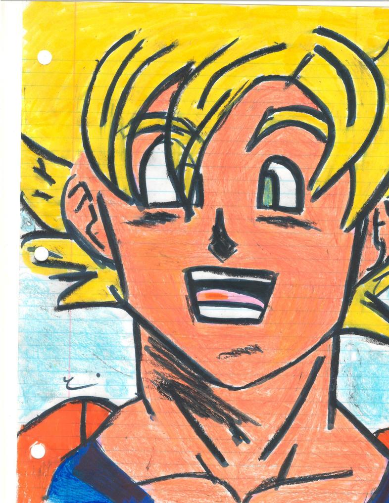 Super Saiyan Goku by mangart96