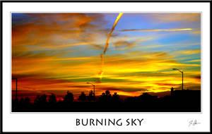 Burning Sky by 300zxtc