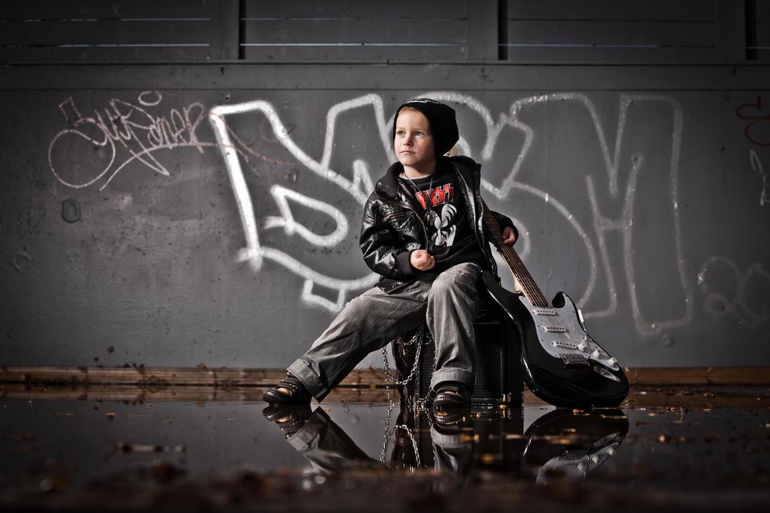 Rock'n'Roll boy by vahalummukka