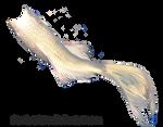Mermaid Tail 06 (White Koi)
