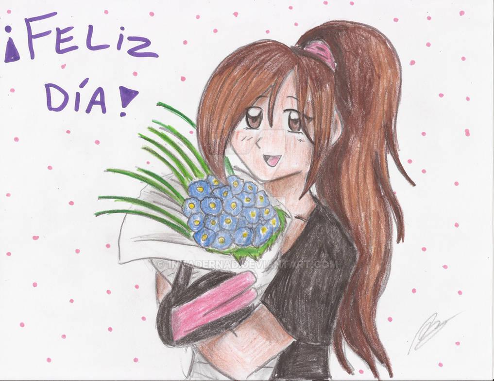 Feliz Dia De La Mujer By 1nvadernad On Deviantart Feliz, feliz dia🌹 bienvenid@s suscribete ►. feliz dia de la mujer by 1nvadernad on
