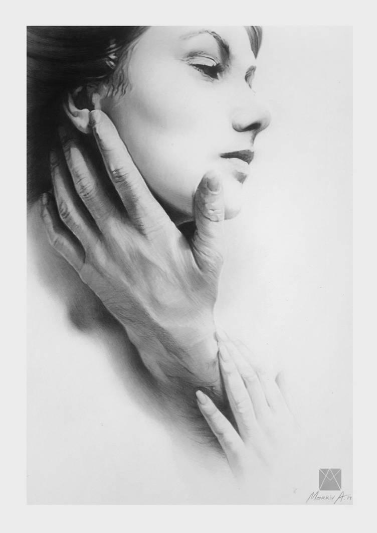 his hand by AndriyMarkiv