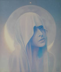 moon girl by AndriyMarkiv