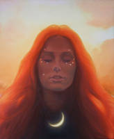 sunset.girl by AndriyMarkiv