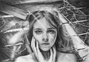 Portrait july by AndriyMarkiv