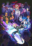 Fanart: Into the vrains!