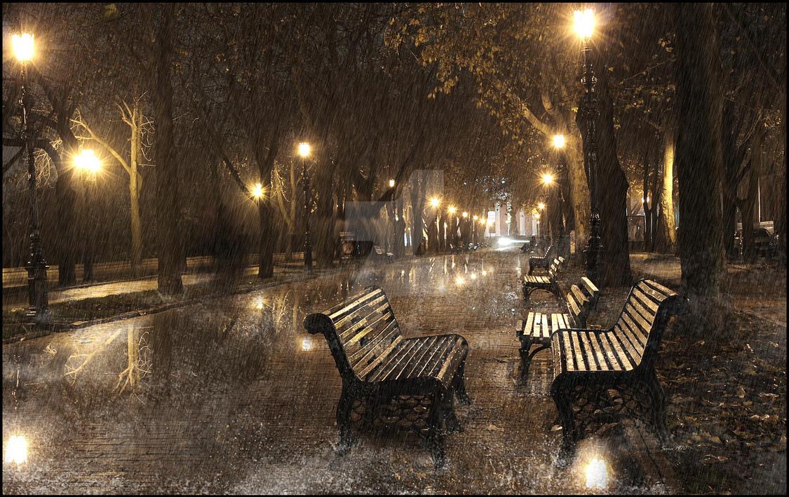I wish it would rain down ... by Sara1970