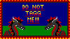 Do not tagg me Gift Stamp by TheBladeDragon