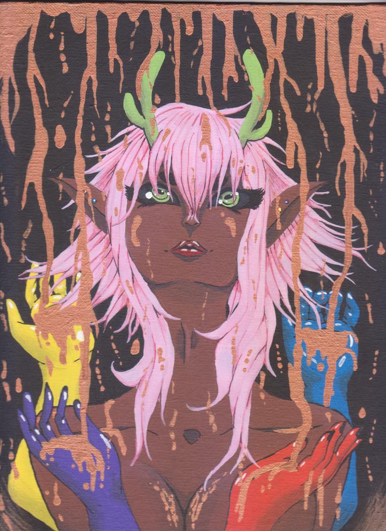 Muse of Creativity by dragonartist3