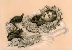 The Awakening of a Vampire Child
