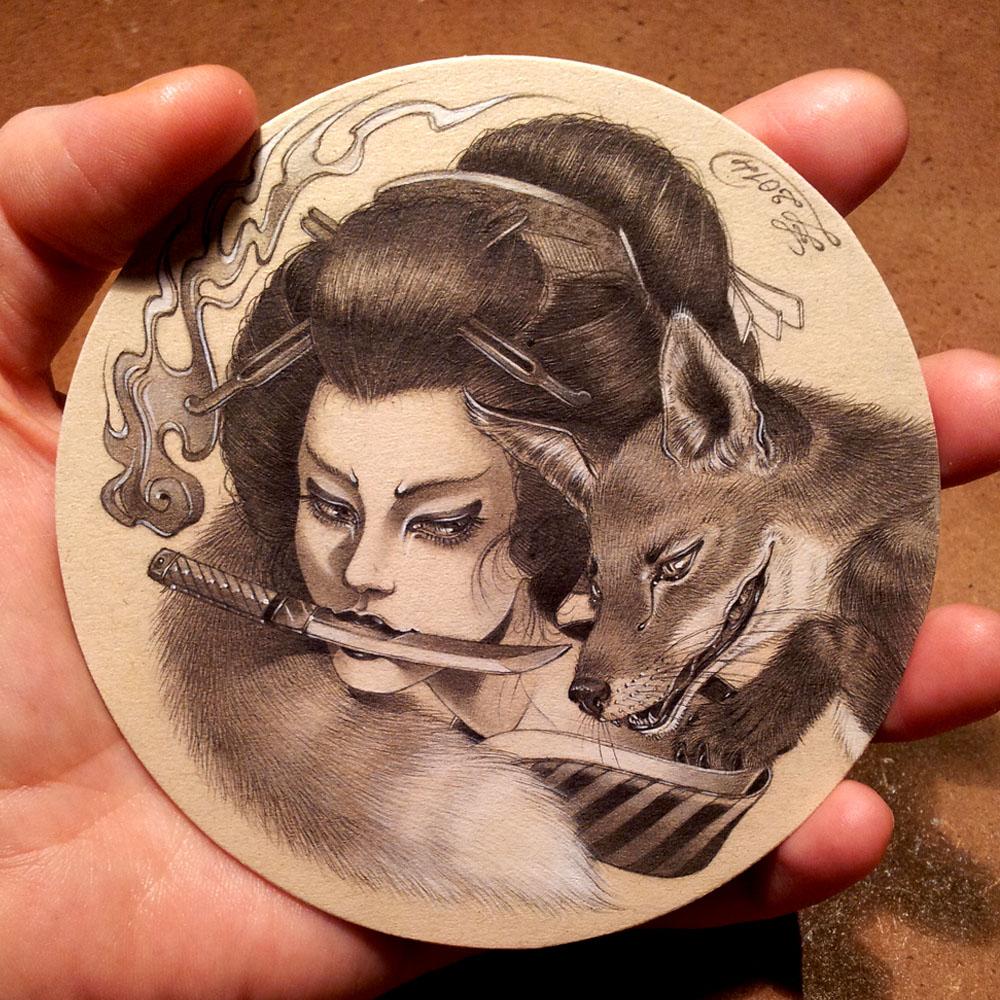 Kitsune's Vengeance by Zoe-Lacchei