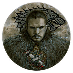 The Bleeding Heart of Jon Snow by Zoe-Lacchei
