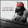 I love you...jar of dirt by MsVilleValo