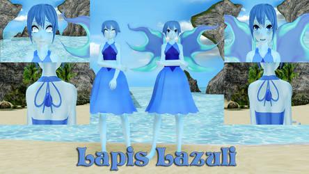 Lapis Lazuli MMD Model DL by Allena-Frost-Walker
