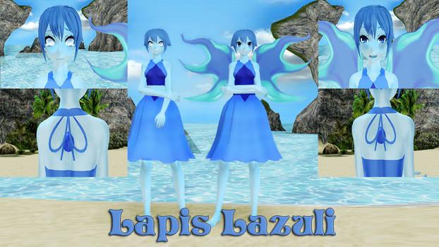Lapis Lazuli MMD Model DL