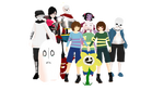 WELCOME TO UNDERTALE! Model DLs Ver 2.0