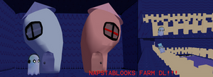 Napstablook's Farm MMD Stage DL