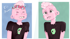 The Pink Baby Lars + SPEEDPAINT by Allena-Frost-Walker