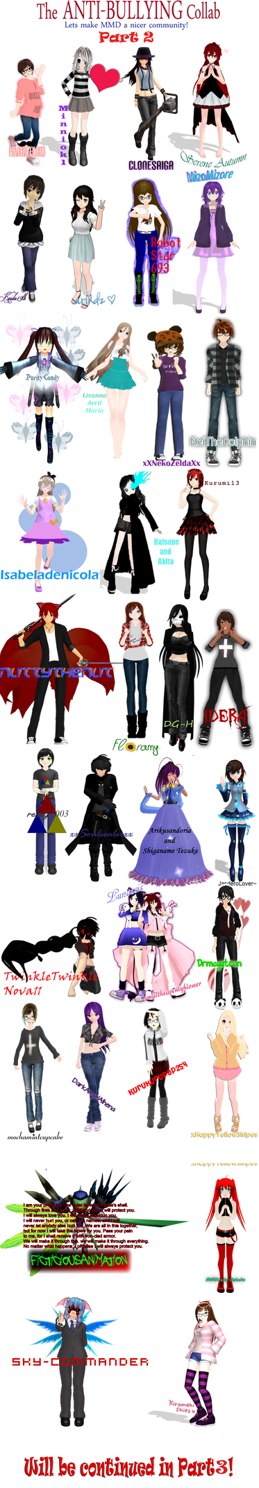 [MMD] Anti-Bullying Collab ~PART 2~