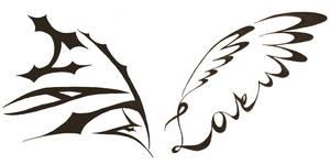 Love Hate Wings