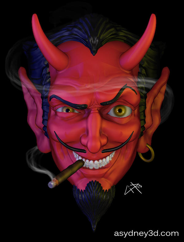 Coop Devil Sculpt by syddevious