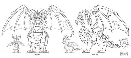 TLoS DragonGuardian Terrdor Elevations by That-Spyro-Guy