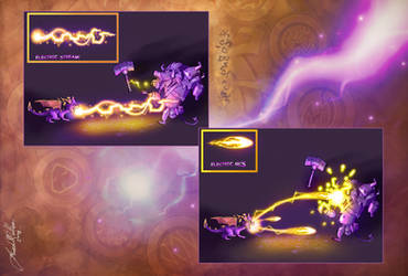 TLoS Elemental Class Electricity by That-Spyro-Guy