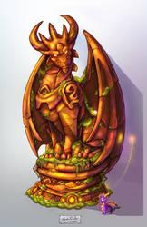 TLoS GreatGuardianStatue by That-Spyro-Guy