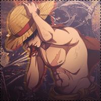 Luffy icon 1 by mnbvcxzasdfghjklpoiu