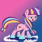 Rainbow Power Longsocks by FeralRoku