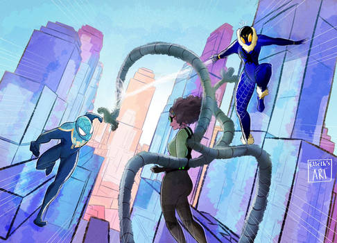 Spidersona Teamup