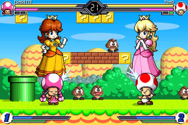 P3 Fighting - Toad Vs Toadette