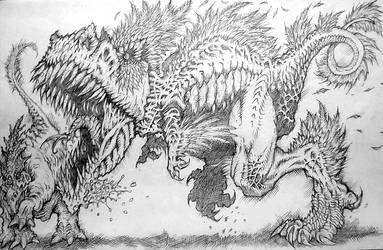 Archaeop T-Rex by 4RN13