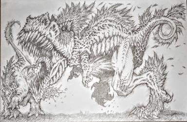 Archaeop T-Rex