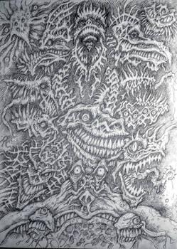 All sorts of uglies sketchdump