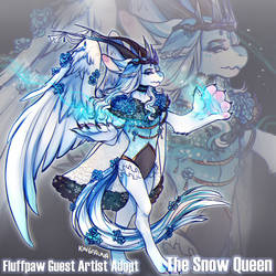 [Fluffpaw] Snow Queen Adopt Auction - CLOSED