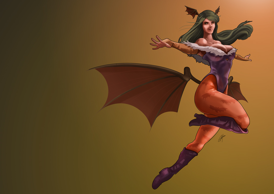 Ready, set, Morrigan by GJMattos