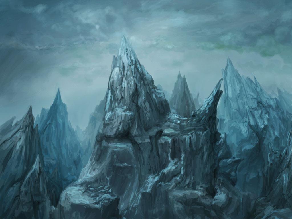 dark mountain game background 4 by ranivius on deviantart
